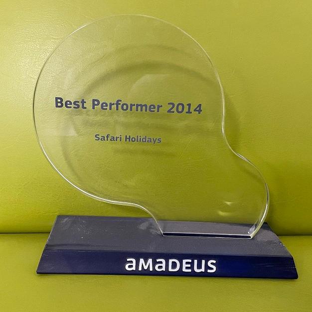 Amadeus Top Selling Award 2014