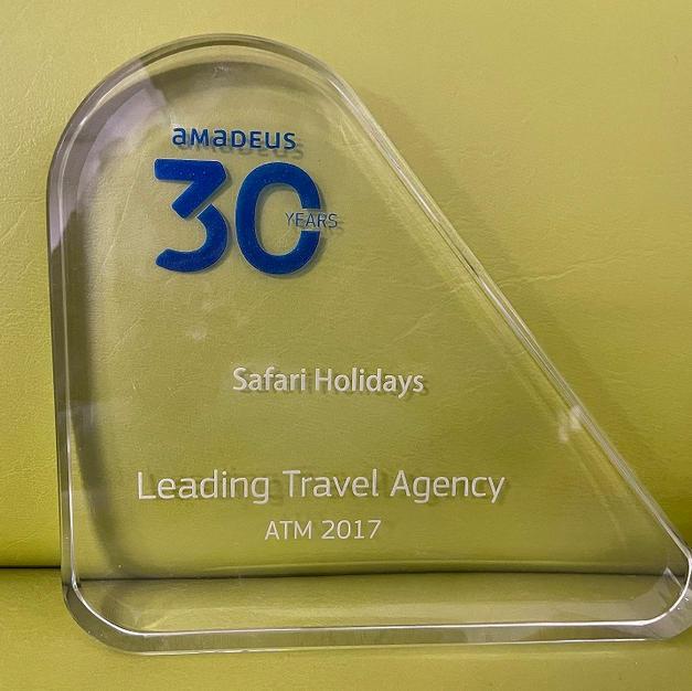Amadeus Top Selling Award 2017