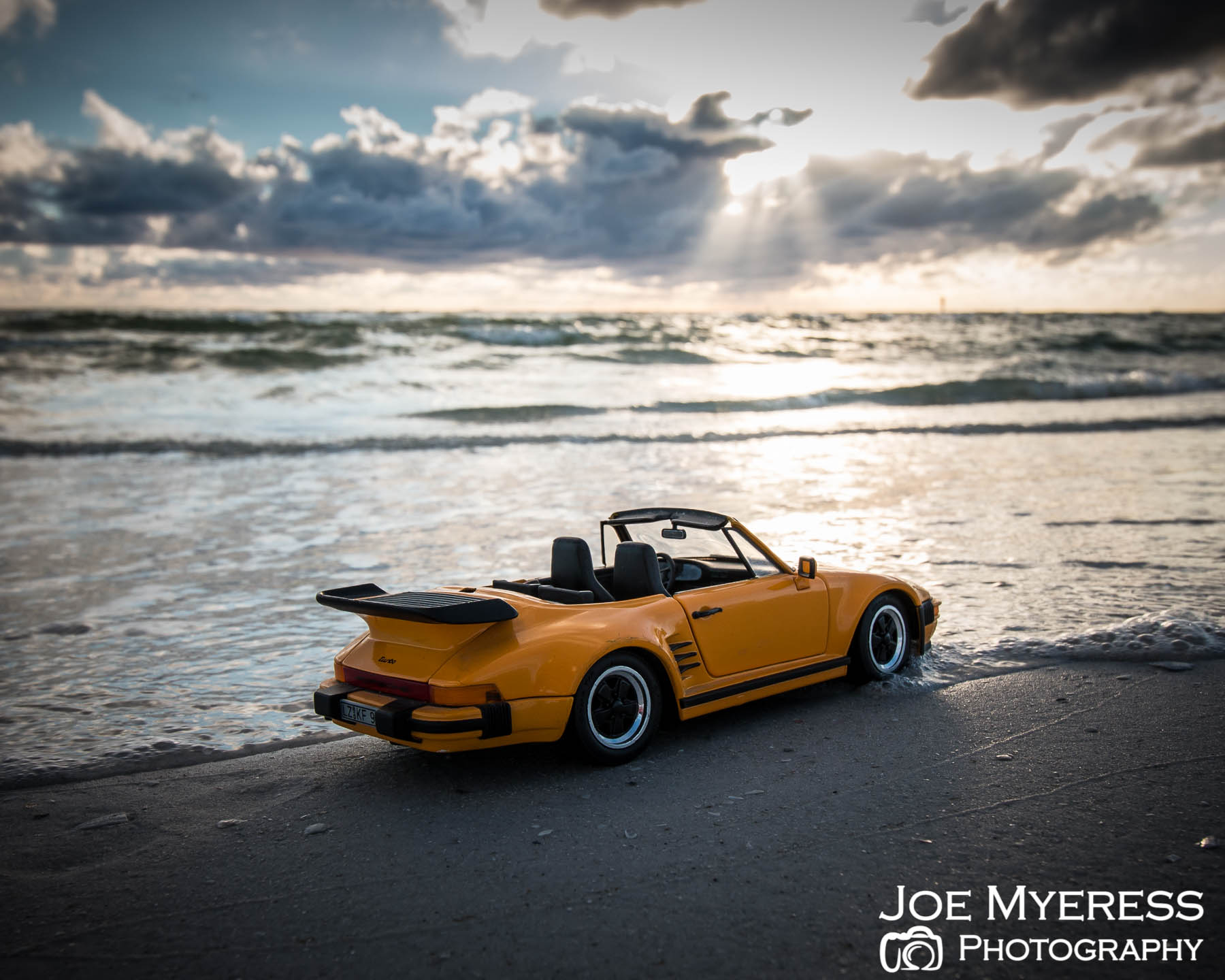 Car on beach