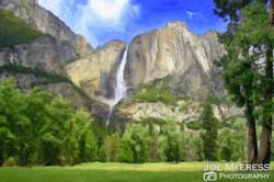 Yosemite painted