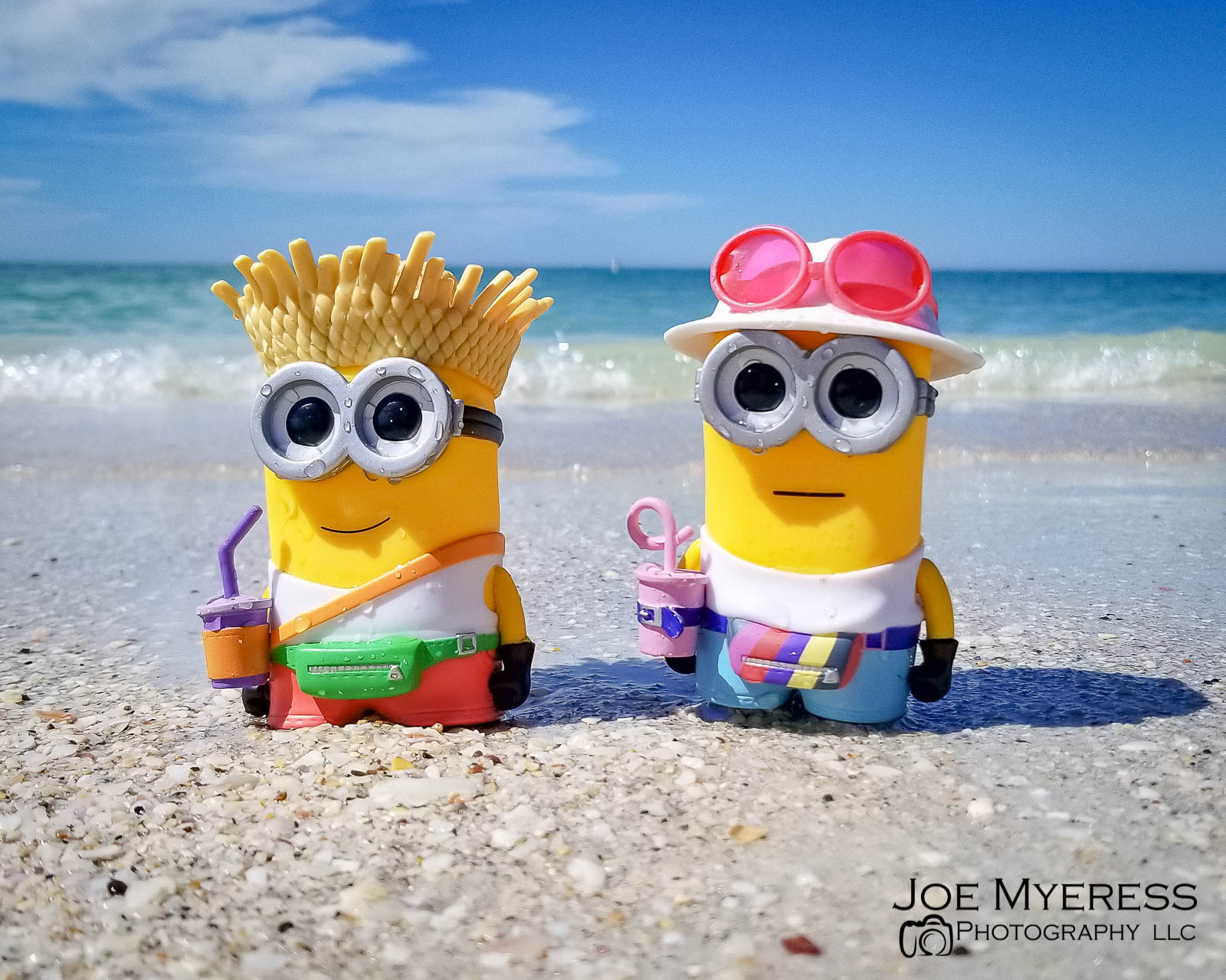 Minions on the Beach