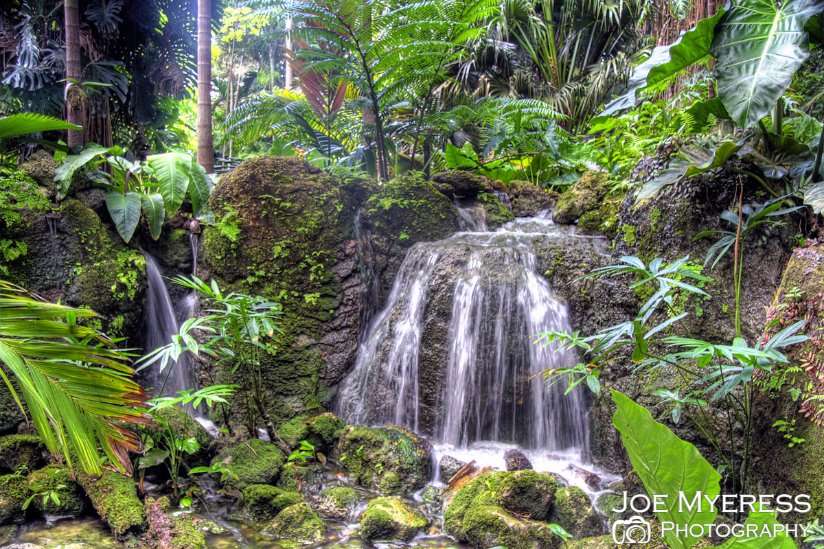 HDR waterfall