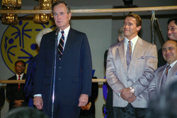 Twins Premiere with Bush