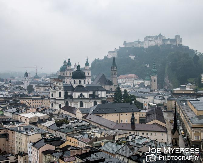 Day 2- Around the Alps Tour 2016- Salzburg