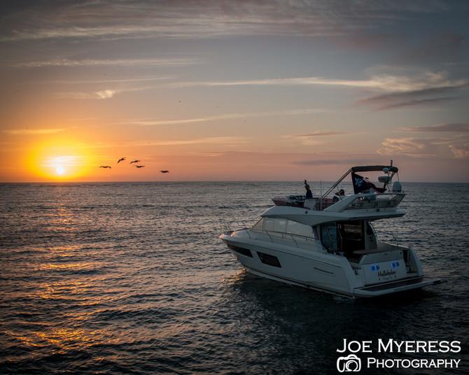 Enjoyed a sunset cruise