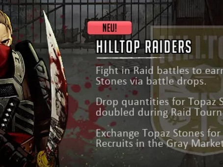 Hilltop Raiders Event