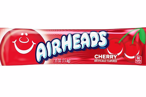 Airheads Cherry Chewy Candy Bars -16g