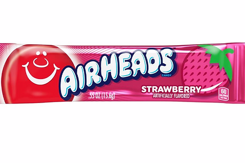 Airheads Strawberry Chewy Candy Bars -16g
