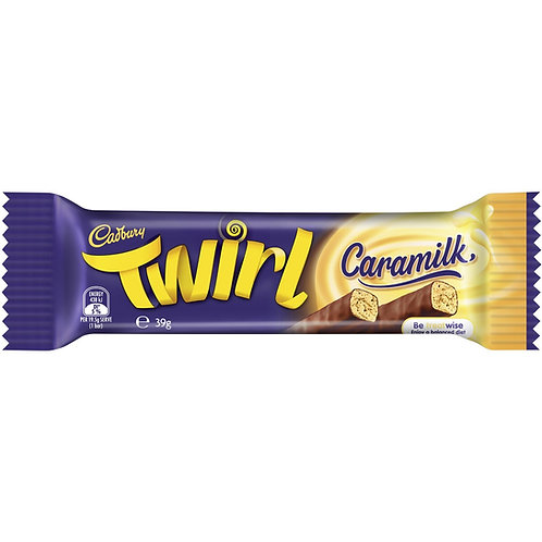 Cadbury Chocolate Twirl – Caramilk (39g)