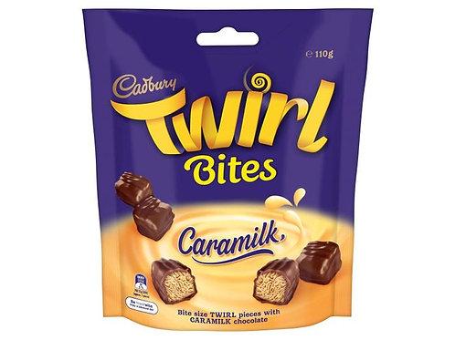 Twirl Caramilk Bites