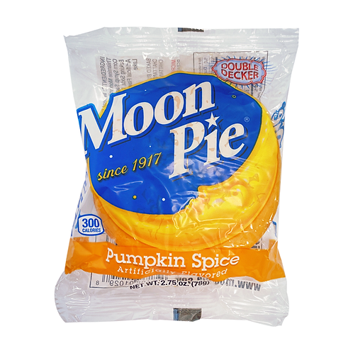 Chattanooga Double Decker Moon Pie Pumpkin Spice - (78g)