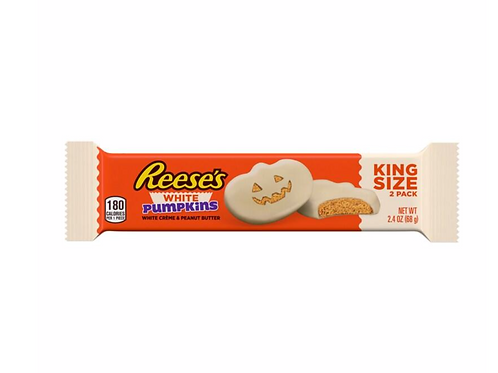 Reeses White Chocolate Pumpkins (King Size-68g)