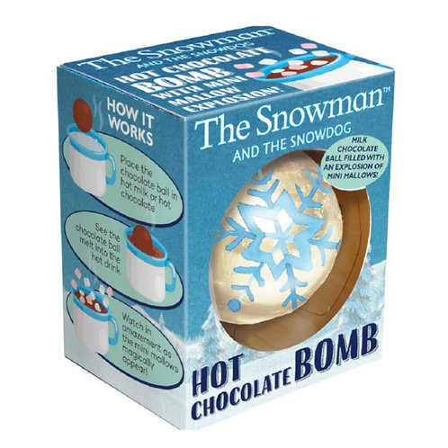 The Snowman and The Snowdog Hot Chocolate Bomb - 45g