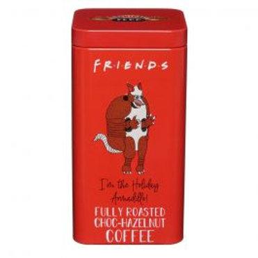 Friends I'm The Holiday Armadillo! Fully Roasted Choc-Hazelnut Coffee Tin 100g