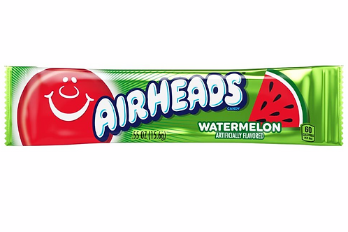 Airheads Watermelon Chewy Candy Bars -16g