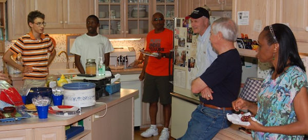 A GO Group (small group) meeting at the home of a GO Church member