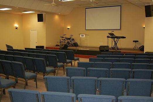 Interior - GO Church Sanctuary