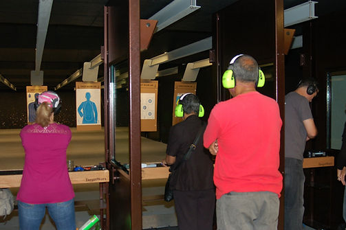 Aiming for the target - GO Church Gun Range outreach