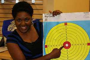 Bulls Eye - Spiritual Wars Gun Range Outreach