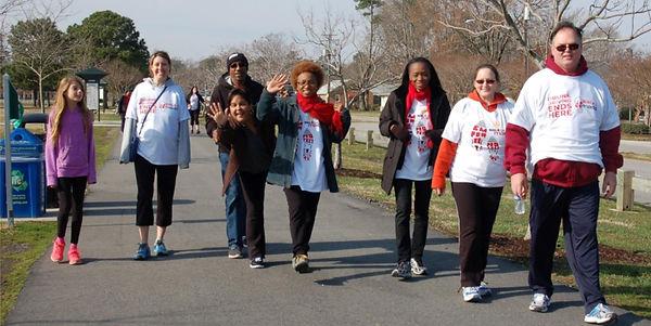 GO Church members participate in the annual Mothers Against Drunk Driving Walk (MADD)