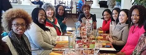 Some GO Church women at a Women's luncheon