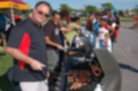 July 4th Block Party at GO Church - complimentary hotdogs and hamburgers