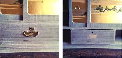 桐箪笥リメイク|アンティーク|箪笥リメイク|名古屋