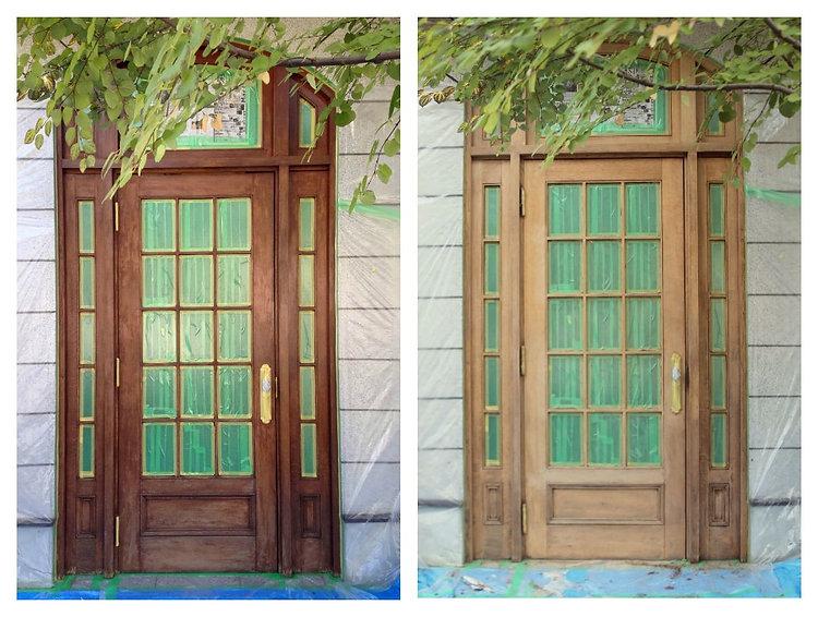 名古屋,アンティーク家具修理,木製ドア修理