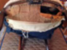 名古屋,アンティーク家具修理,アームチェア,ビフォーアフター
