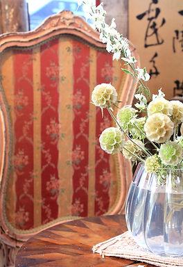 名古屋,アンティーク家具修理,フレンチファイヤースクリーン,ビフォーアフター