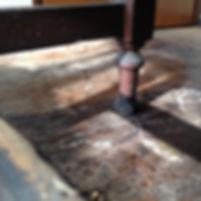 名古屋,アンティーク家具修理,大正時代机再生家具修理,ビフォーアフター
