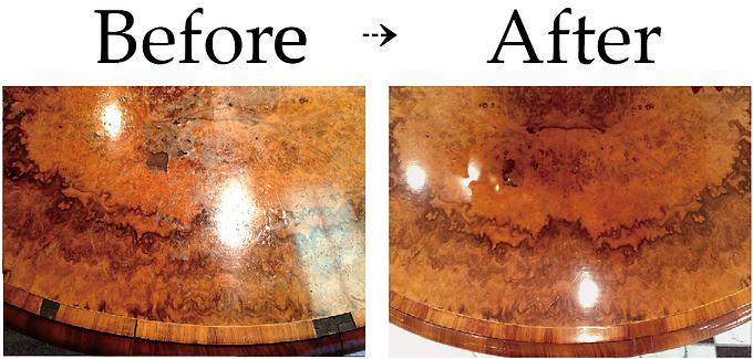 アンティーク家具修理|ヴィクトリアンセンターテーブル修理|名古屋