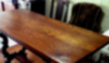 名古屋,アンティーク家具修理,だいにんぐテーブル修理,ビフォーアフター