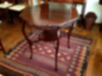 名古屋,アンティーク家具修理,オケージョナルテーブル,ビフォーアフター