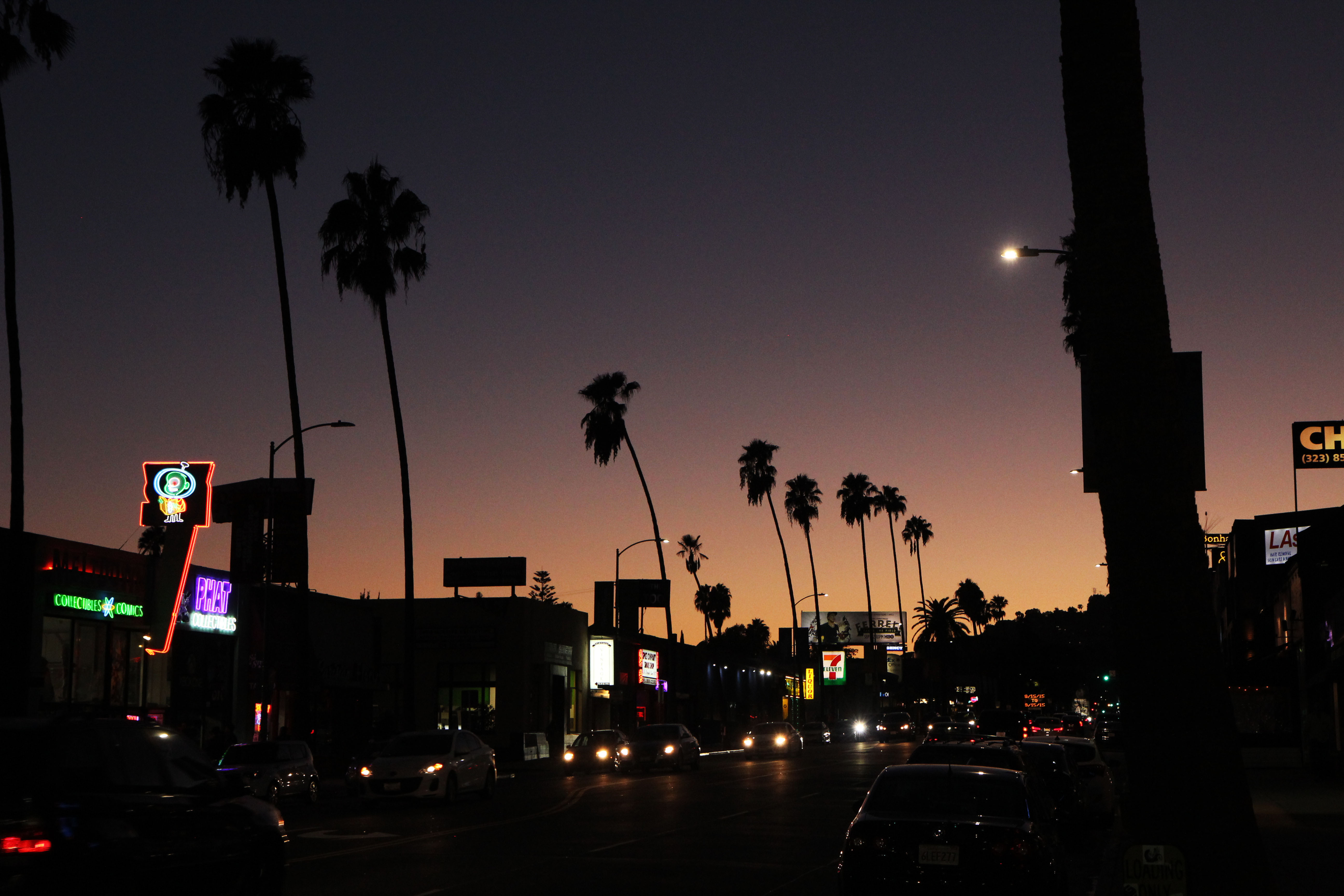 L.A Sunset Boulevard