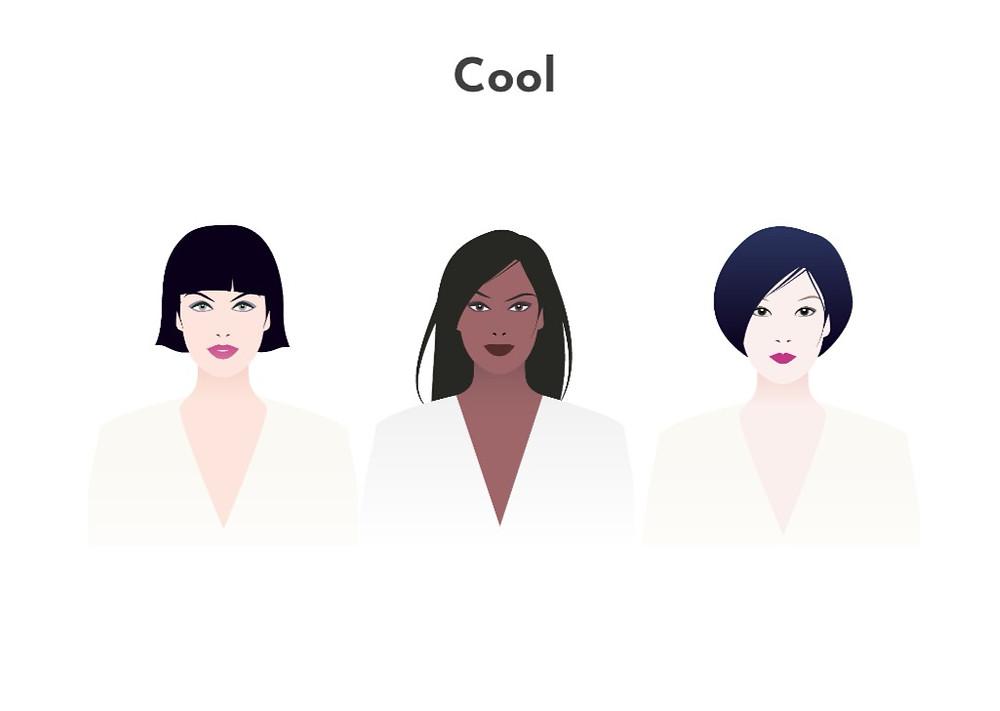 Cool skin undertone