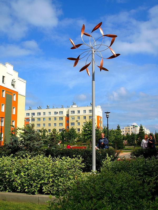 ветряные скульптуры кинетические скульптуры на заказ