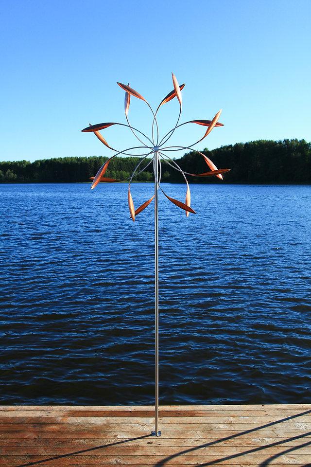 кинетическая скульптура Звезда