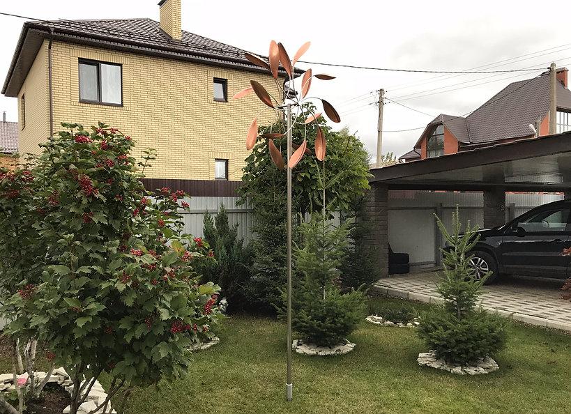 декоративный ветряк для сада