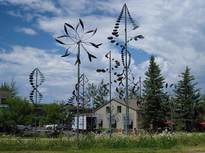 ветряные скульптуры на заказ