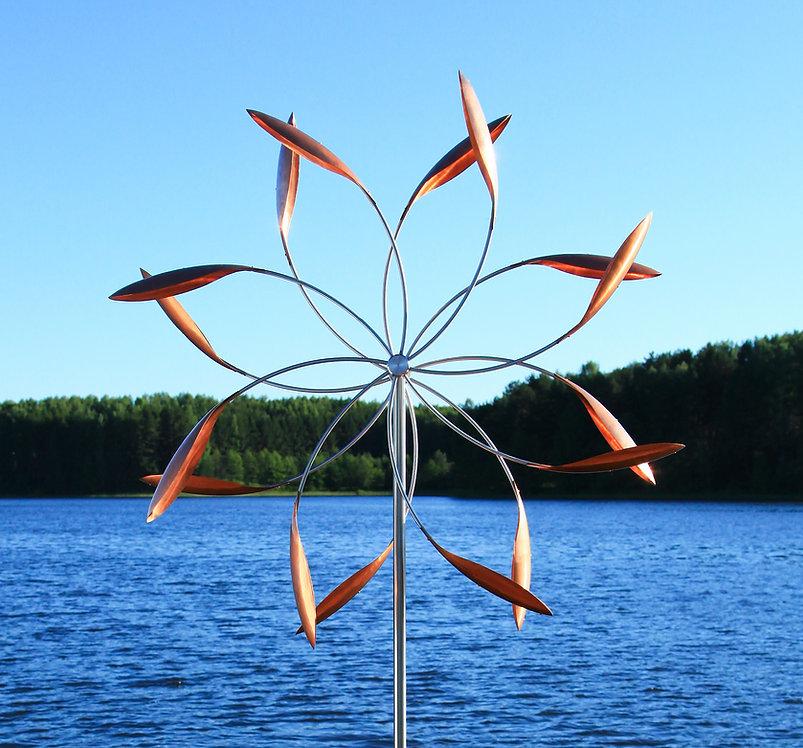 Ветряная скульптура Звезда