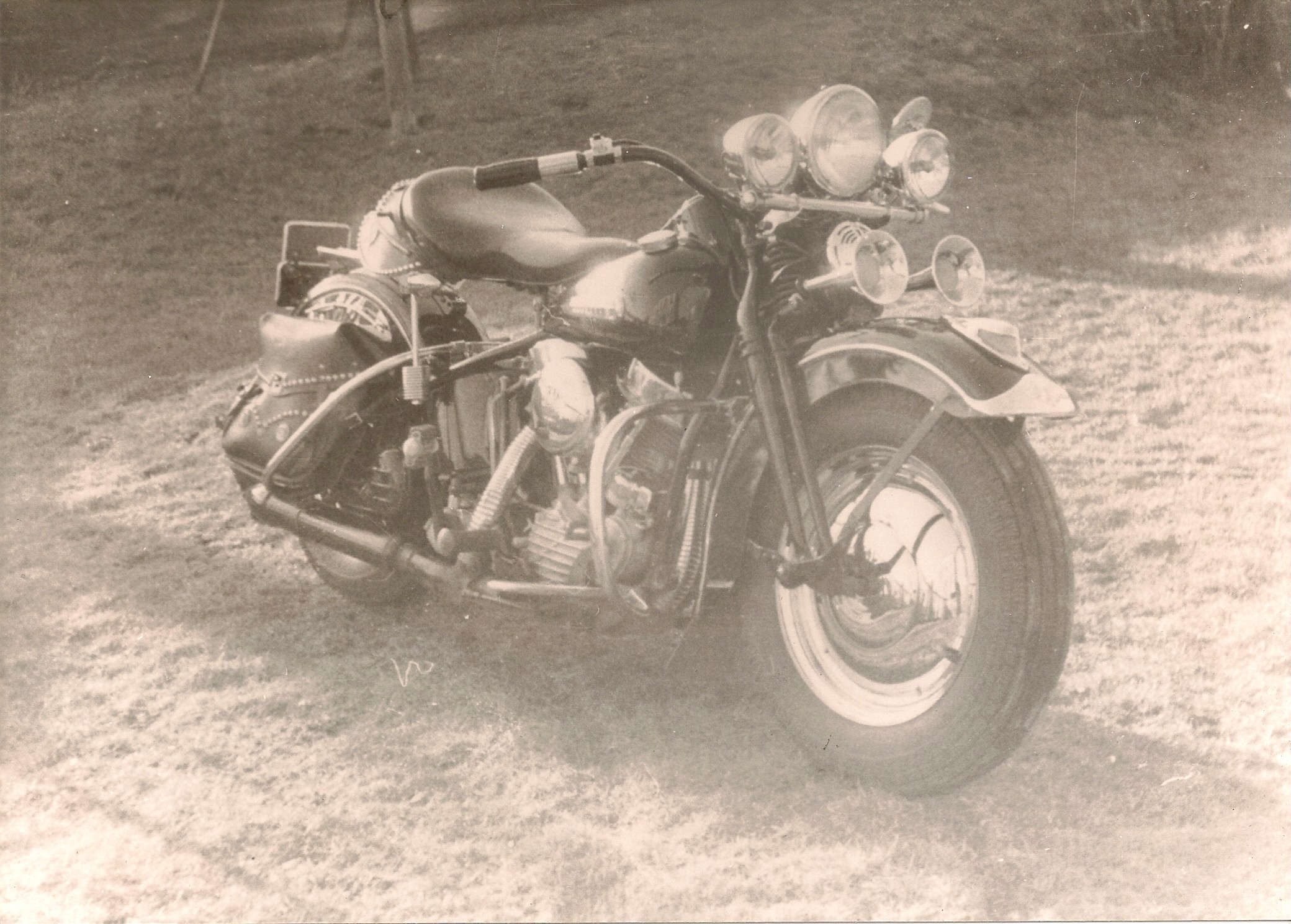 One of my late Uncle's Harleys
