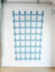 Rideau bleu, Laureline Lê, laurelinele.com