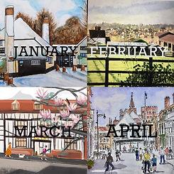 Calendar Images Jan-April