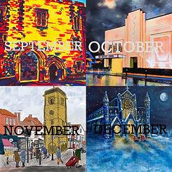Calendar images Sept -Dec