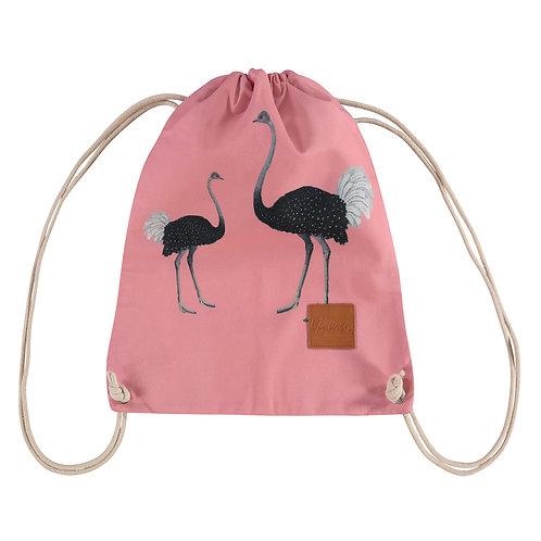 ostrich party rugzak