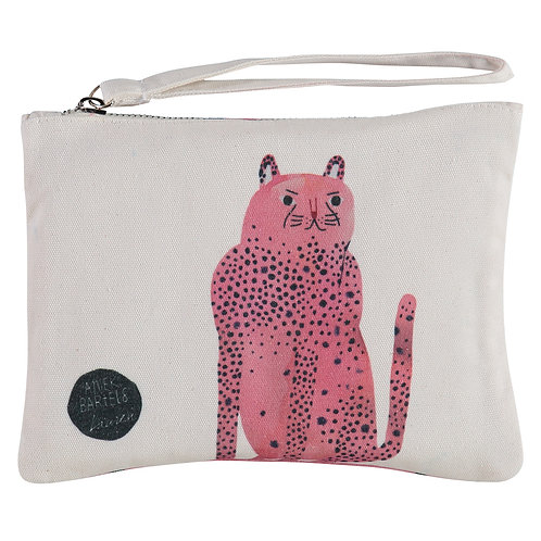 pink panther by Aniek Bartels clutch