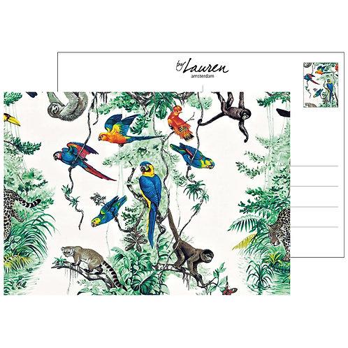 jungle madness postcard