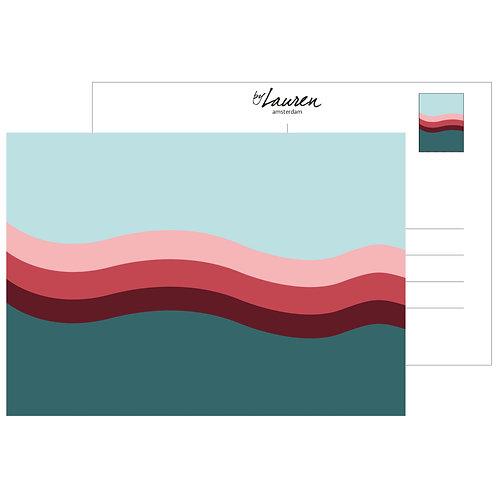making waves postcard