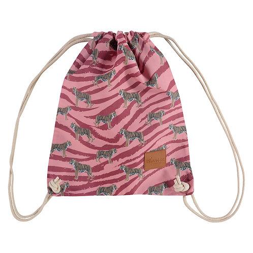 go get em tiger coral pink rugzak